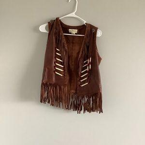 Denim Supply Ralph Lauren Beaded Vest XS